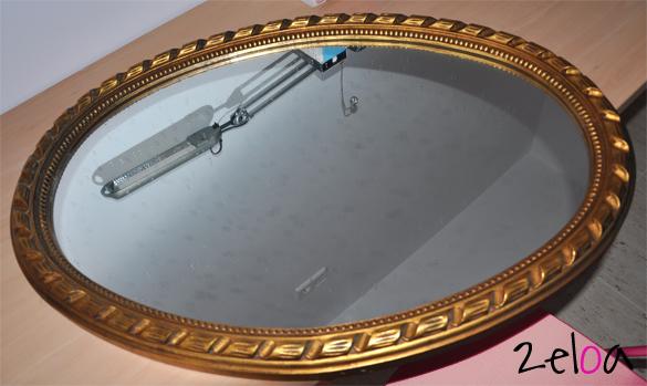 Espejo estilo romántico restaurado - www.2eloa.com