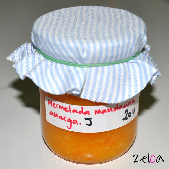 Tarro de mermelada de mandarina amarga - www.2eloa.com