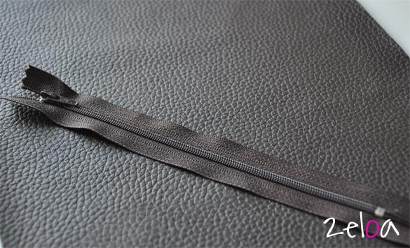 Monedero de piel sintética hecho a mano - www.2eloa.com