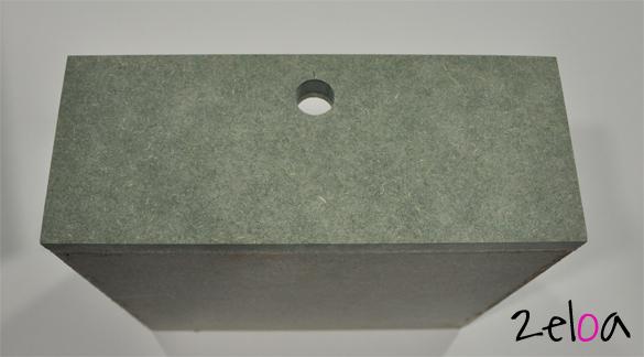 Ikea Hack: Cajón de maderas recicladas para mesitas Aspelund - www.2eloa.com