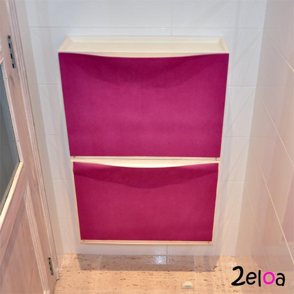 Ikea hack decorar un zapatero trones con aironfix 2eloa - Armario zapatero ikea ...